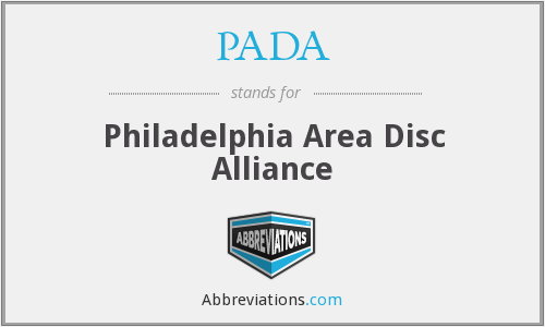 What does PADA stand for?
