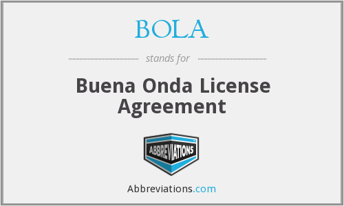 What does BOLA stand for?