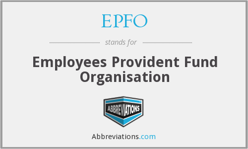 What does EPFO stand for?