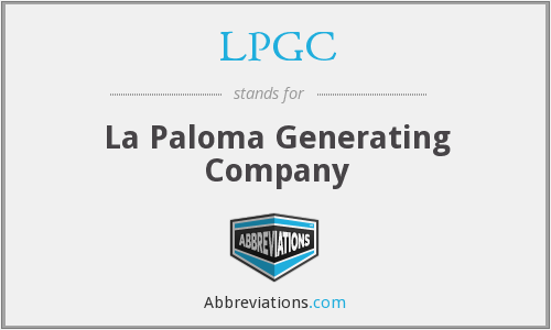What does LPGC stand for?