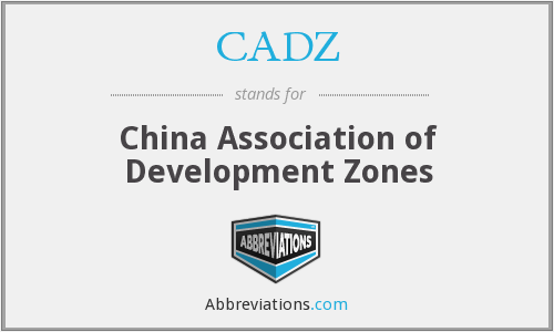What does CADZ stand for?