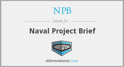 What does NPB stand for?