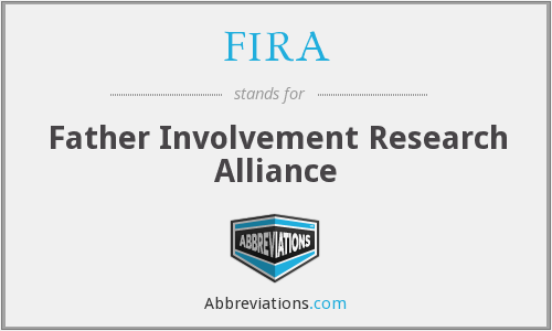 What does FIRA stand for?