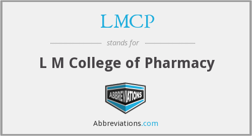 What does LMCP stand for?