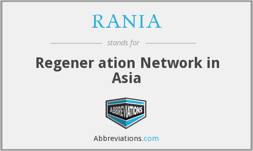What does RANIA stand for?
