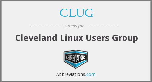 What does CLUG stand for?
