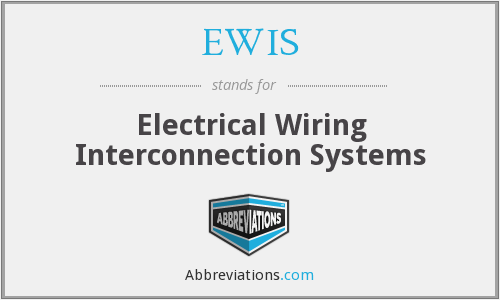 What does EWIS stand for?