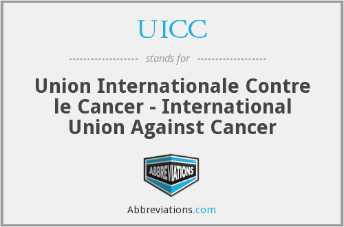 What does UICC stand for?