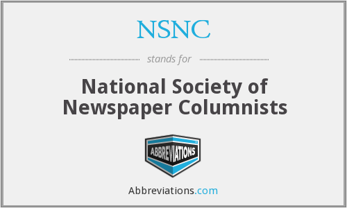 What does NSNC stand for?