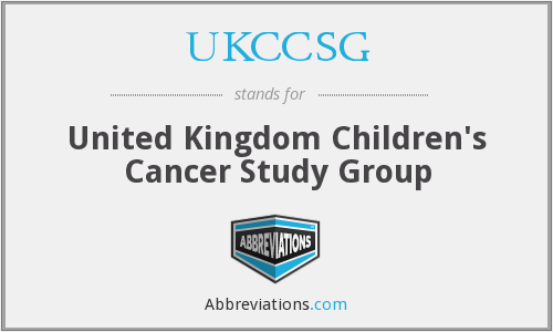 What does UKCCSG stand for?