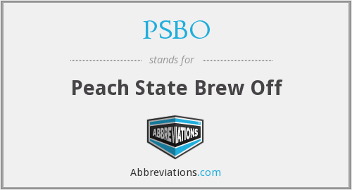 What does PSBO stand for?