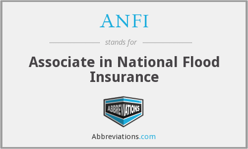 What does ANFI stand for?