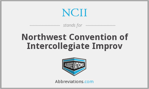 What does NCII stand for?