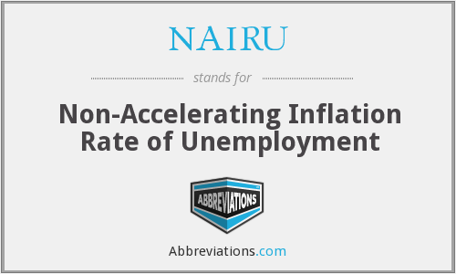 What does NAIRU stand for?