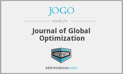 What does JOGO stand for?