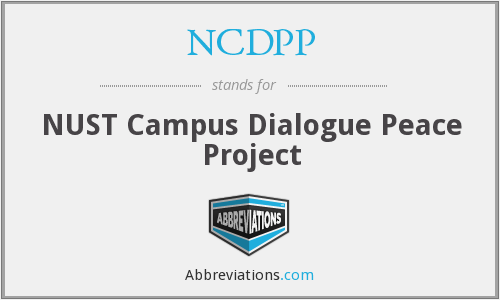 What does NCDPP stand for?