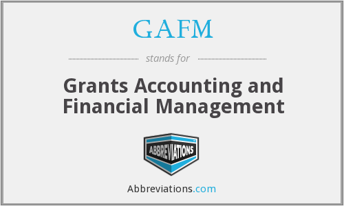 What does GAFM stand for?