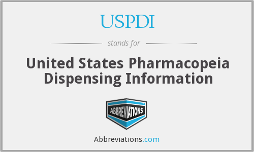 What does USPDI stand for?