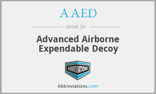 What does AAED stand for?
