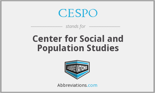 What does CESPO stand for?