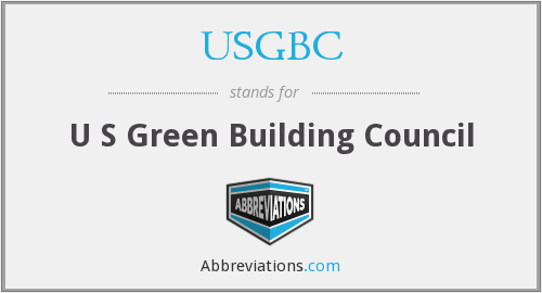 What does USGBC stand for?