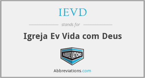 What does IEVD stand for?