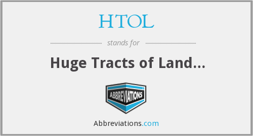 What does HTOL stand for?