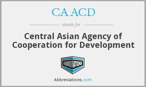 What does CAACD stand for?