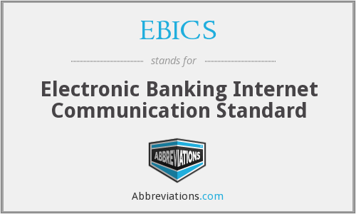 What does EBICS stand for?