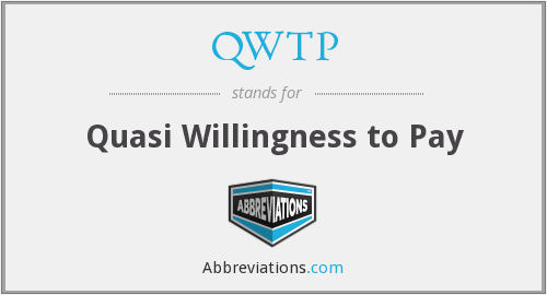 What does QWTP stand for?
