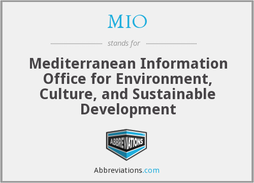 What does MIO stand for?