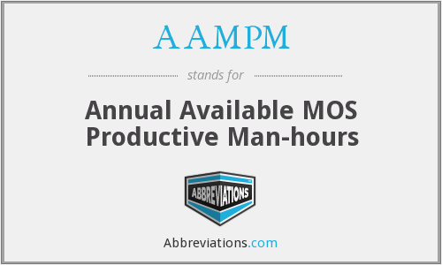 What does AAMPM stand for?