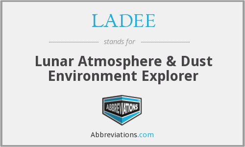 What does LADEE stand for?
