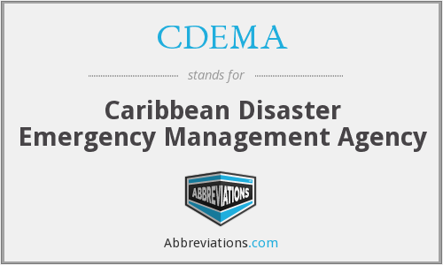 What does CDEMA stand for?