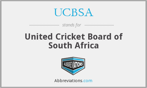 What does UCBSA stand for?