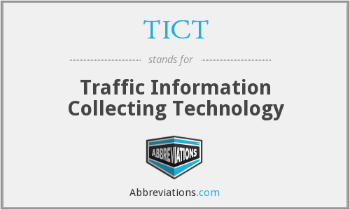 What does TICT stand for?