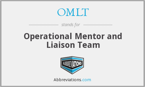 What does OMLT stand for?