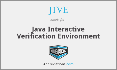 What does JIVE stand for?