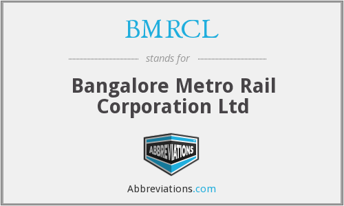 What does BMRCL stand for?