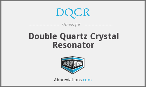 What does DQCR stand for?