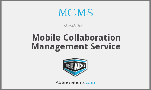 What does MCMS stand for?