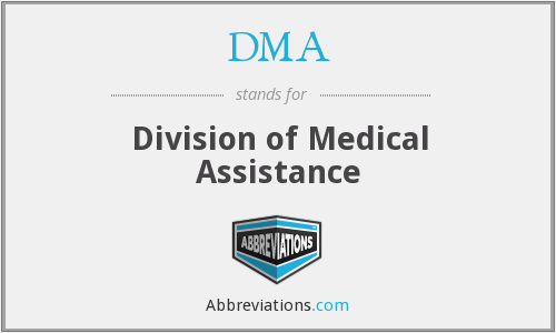 What does DMA stand for?