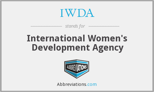 What does IWDA stand for?