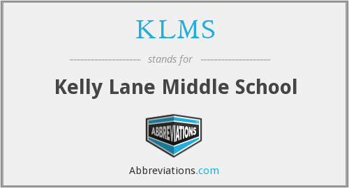 What does KLMS stand for?