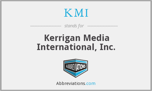 What does KMI stand for?