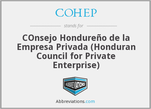 What does COHEP stand for?