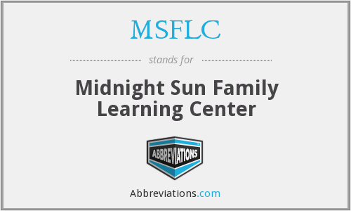 What does MSFLC stand for?