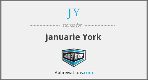 What does JY stand for?