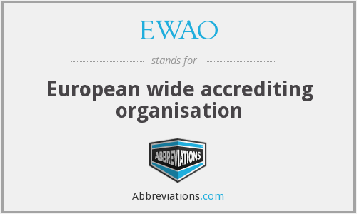 What does EWAO stand for?