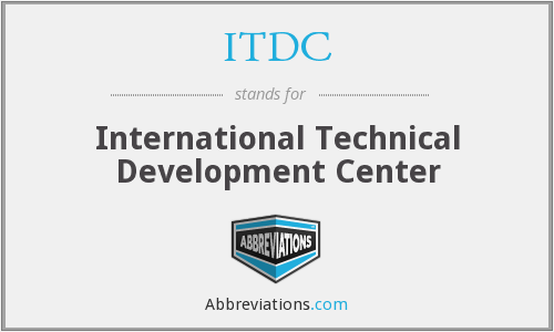 What does ITDC stand for?